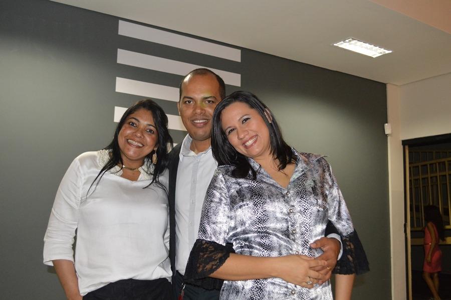 Vera Reis, Ricardo Costa e Luciane Costa