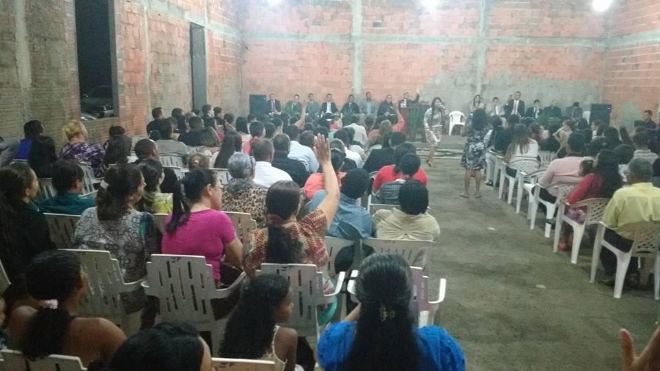 Culto pré-inaugural reuniu centenas de evangélicos em Paraíso do Tocantins