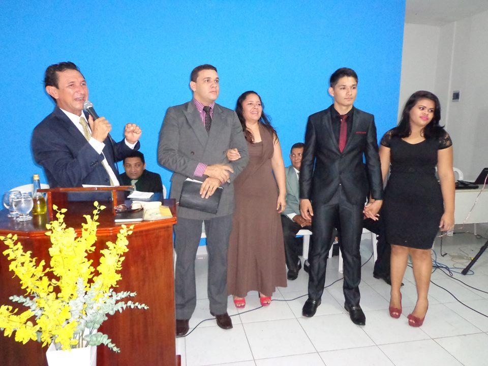 Pastor Paulo Nascimento ministrou a palavra na inauguração da igreja