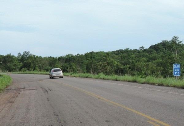 Área está localizada às margens da rodovia TO-050
