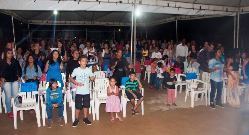 O evento reuniu centenas de evangélicos para comemorar o aniversário da Igreja - Foto: Daniel Ferreira