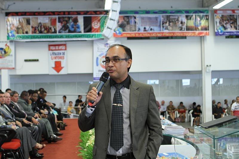 Pr. Daniel Vieira, líder da AD Ciadseta em Imperatriz - MA