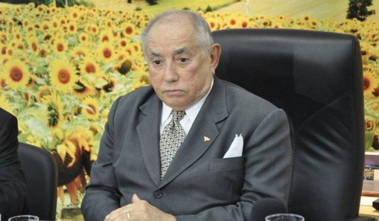 Siqueira Campos, ex-governador do Tocantins, está internado na UTIS