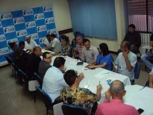 Sindicalistas_Reunião