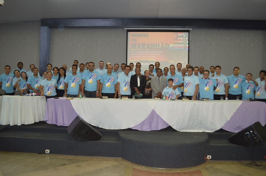 Missionários do Tocantins que serão enviados ao Maranhão