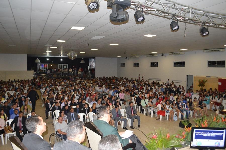 Escola Bíblica de Obreiros da AD Madureira no Tocantins - Foto: Ricardo Costa