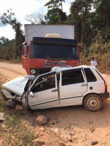 Acidente em MT mata sete pessoas da mesma família. Foto : JNMT