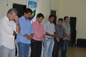 Evento teve inicio com oração