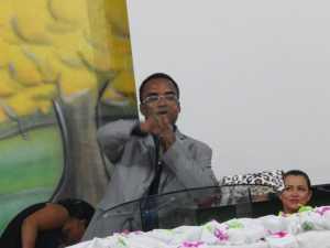 Pr. Derisvaldo Bezerra, líder da AD Missão Sião em Palmas