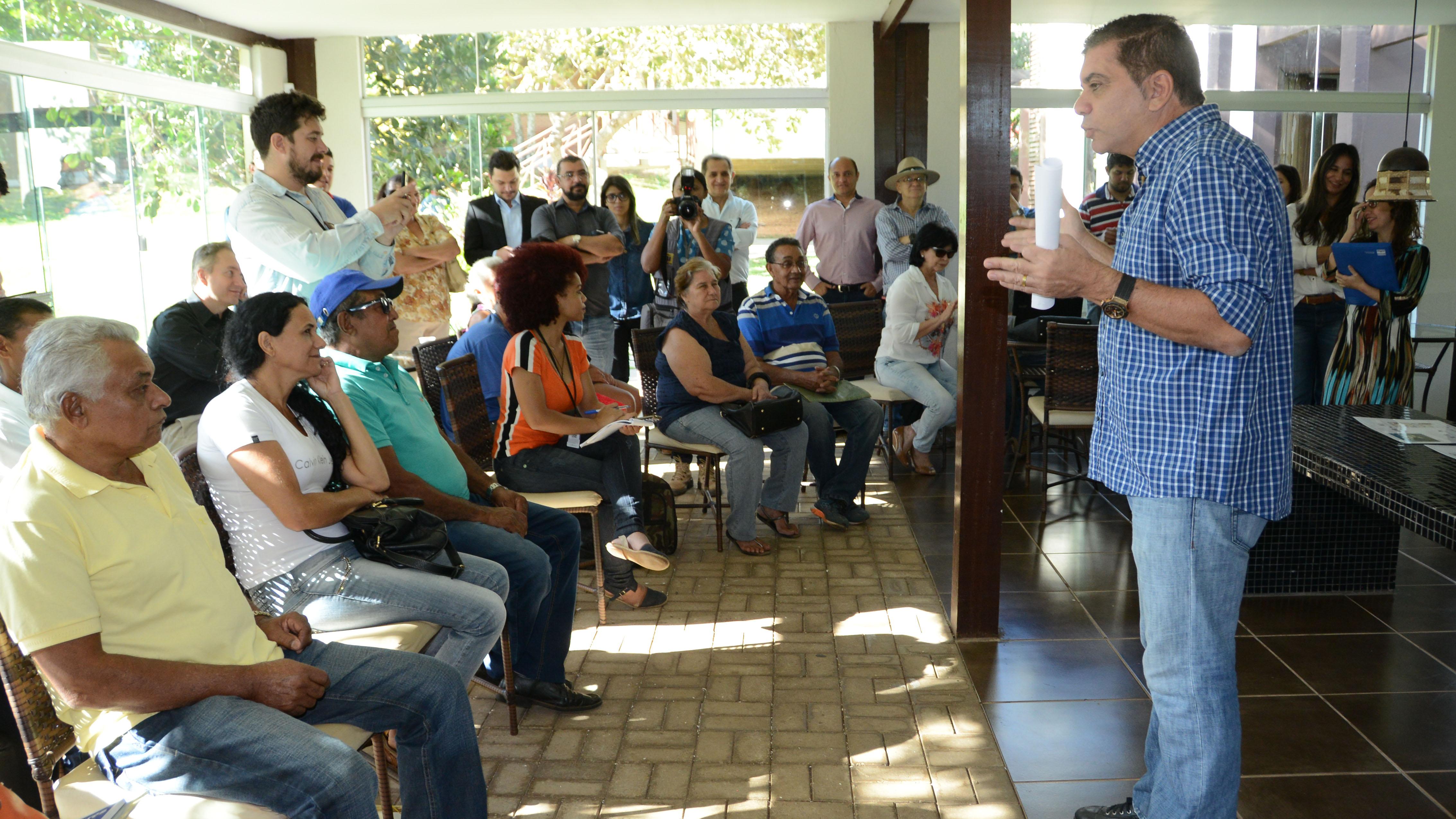 BRT em Palmas: Contrato de acordo com famílias é assinado por cansaço