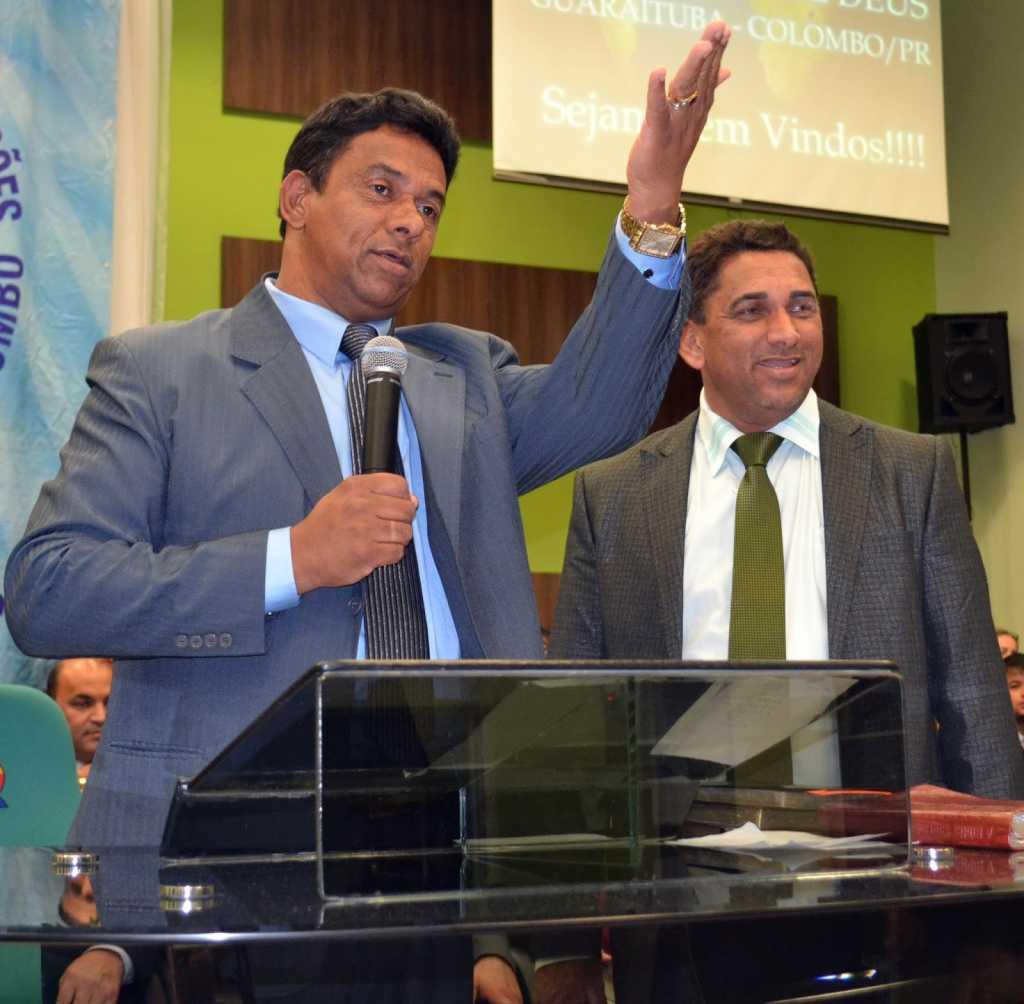 Hermes Feitosa é Presidente da Assembleia de Deus Ministério Guaraituba-Colombo -PR