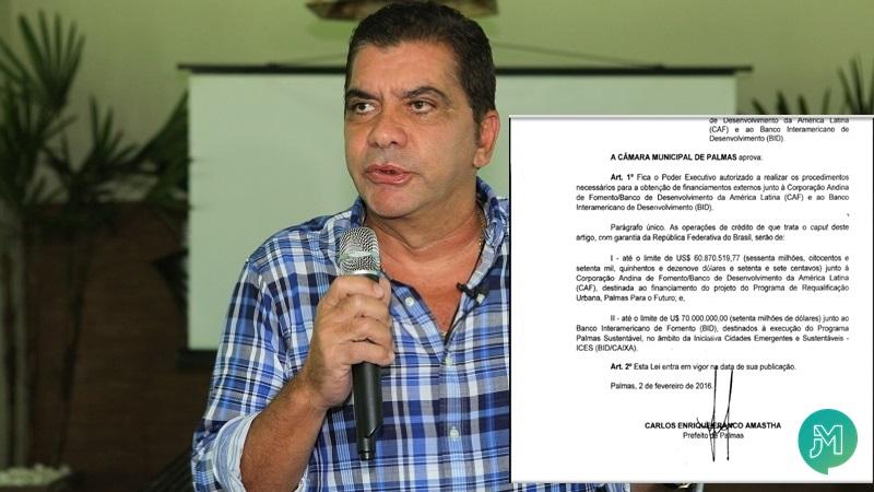 Amastha quer autorização para conseguir empréstimo de quase meio bilhão de reais