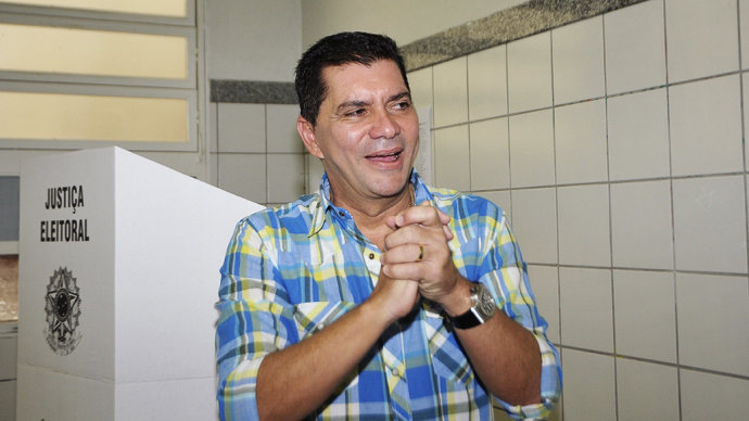 Carlos Amastha é eleito prefeito de Palmas com 52,98% dos votos válidos