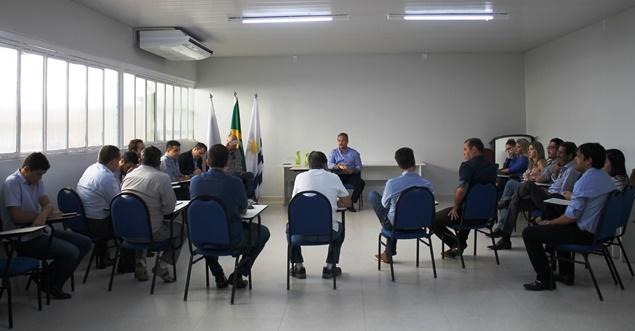 Marcos Antônio Poggio, teve como foco na reunião a proposta de atrair novos consumidores e novos investidores para a Capital