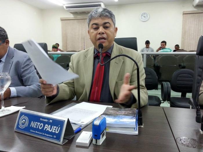 Em Araguaína, vereador evangélico da Ciadseta Neto Pajéu não conseguiu se reeleger