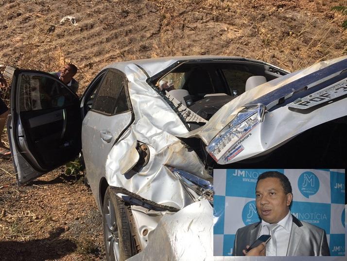 Cantor Silvan Santos sofre acidente; Pr. Darley Macedo pede orações