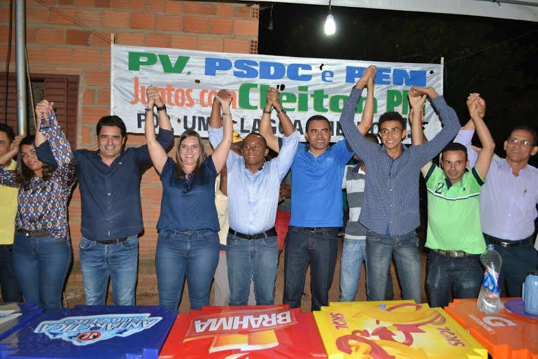 PV lança Cleiton PM como pré-candidato a Prefeitura de Lagoa do Tocantins em evento que reúne Cláudia Lelis e Wanderlei Barbosa