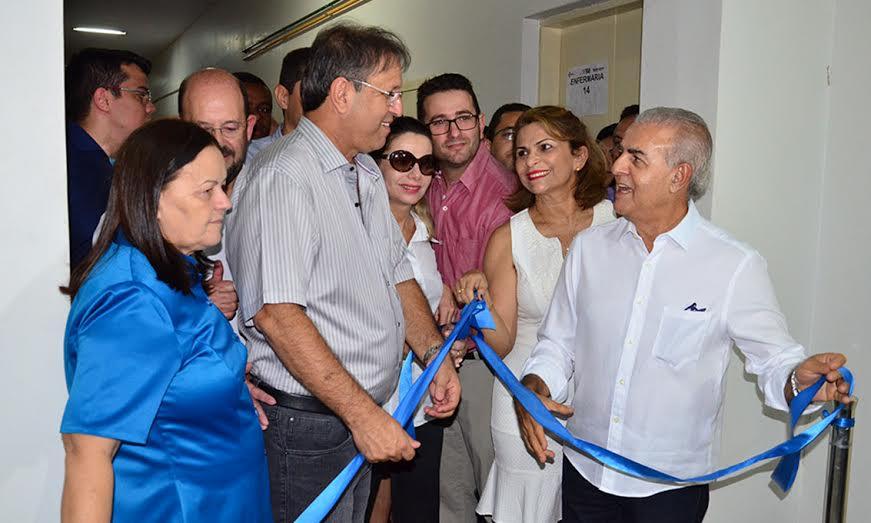 O governador Marcelo Miranda destacou que as melhorias vão garantir mais qualidade aos serviços da saúde - Elizeu Oliveira / Governo do Tocantins