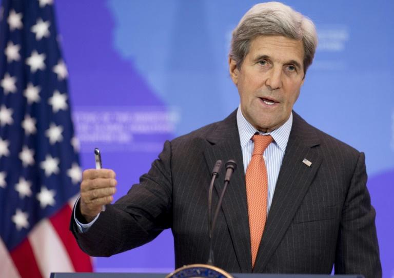 O secretário de Estado americano, John Kerry, em Washington, DC, no dia 21 de julho de 2016