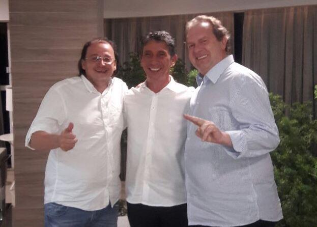 Raul Filho se reúne com PHS para discutir alianças