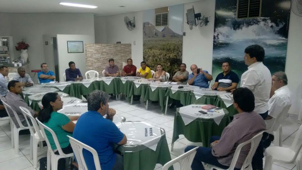 Fabiano Parafusos reúne PRB e diz que conta com 20 pré-candidatos a vereadores pelo partido