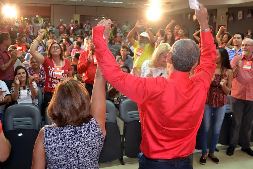 PT lança Zé Roberto à prefeitura de Palmas durante convenção e candidato fala em mudanças