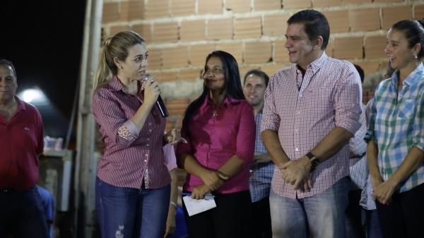 Cinthia 'abraça' legado de João Ribeiro por mais creches