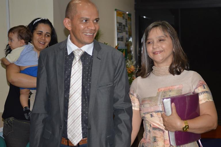 Pastor Gizelson Monteiro e a esposa Rivadavia Monteiro