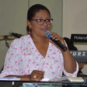 Luciene Lopes, Líder do departamento de comunicação da AD 22