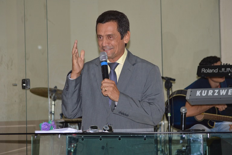 Pastor Edmundo Dualibe representou o campo Nação Madureira na oportunidade