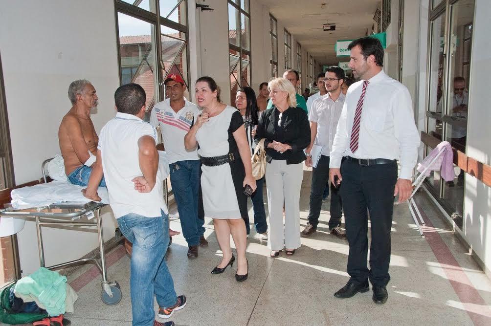 Após vistoria no Hospital Geral de Palmas, MPE e DPE pedirão novamente providências à Justiça