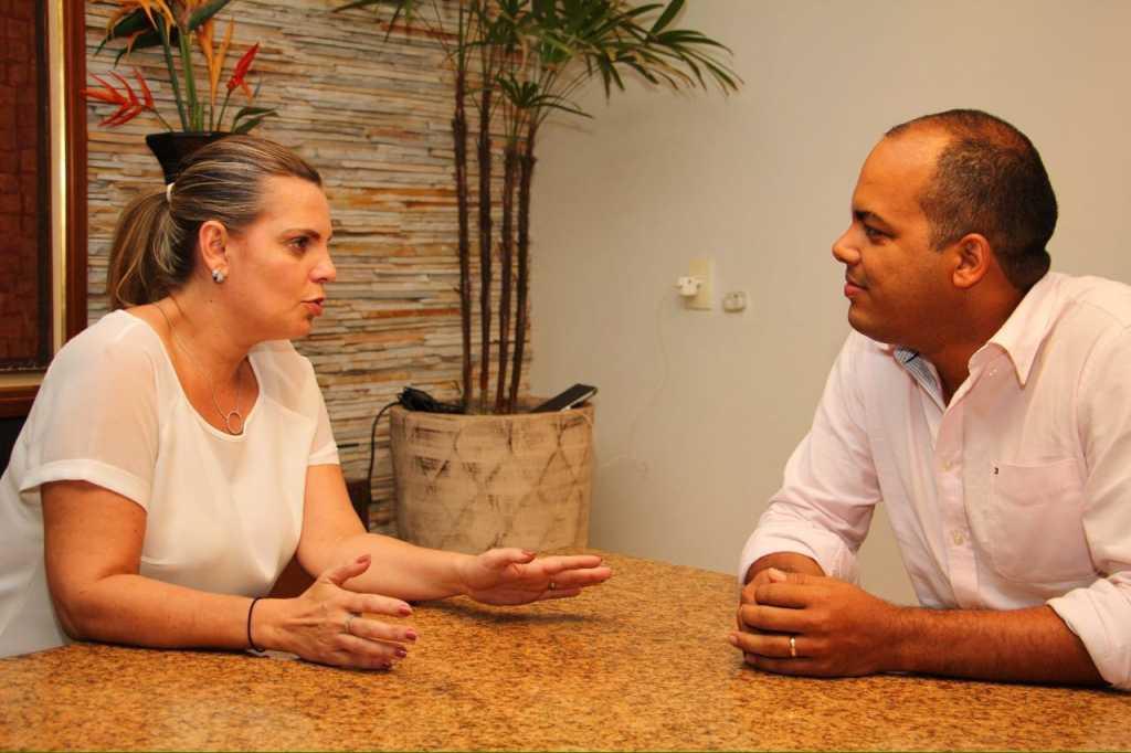 A pevista afirmou que seu programa de governo será de uma gestão compartilhada.