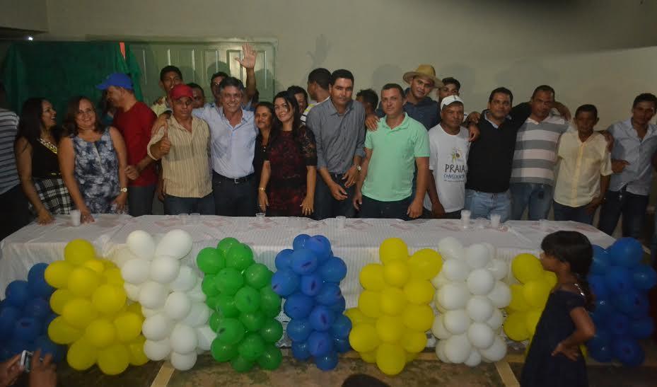 Em Caseara, Ildislene Santana é homologada candidata a prefeita com apoio de 15 partidos
