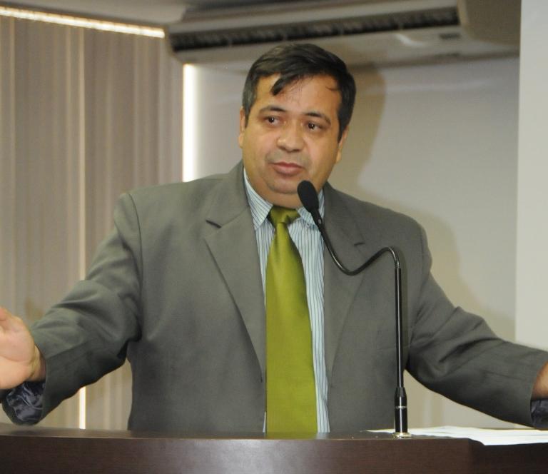 Vereador Joel Borges (PMN), candidato apoiado pelo deputado Eli Borges