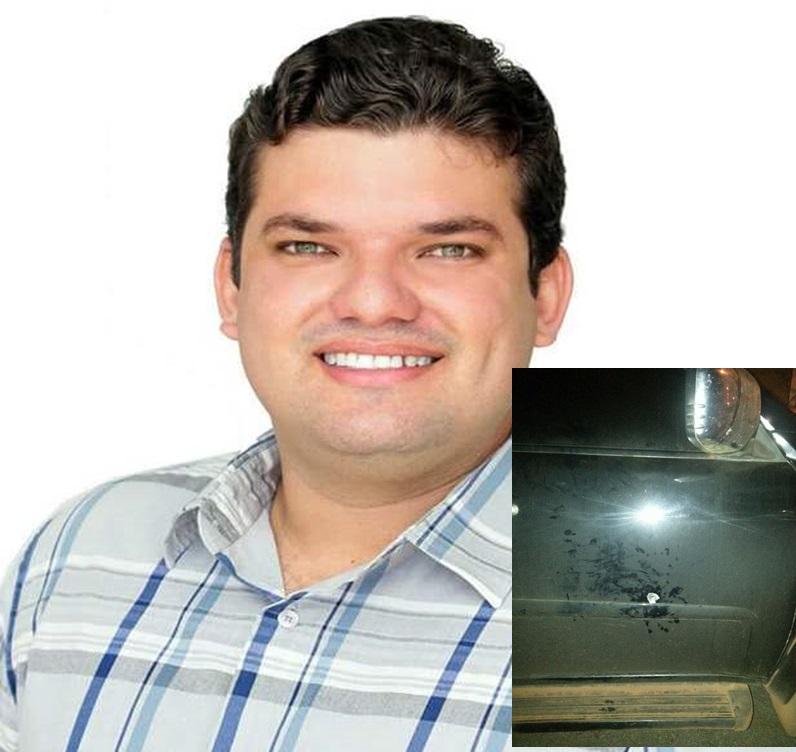 Candidato a vereador Kassyo Fernando tem veículo alvejado por tiros em Palmas