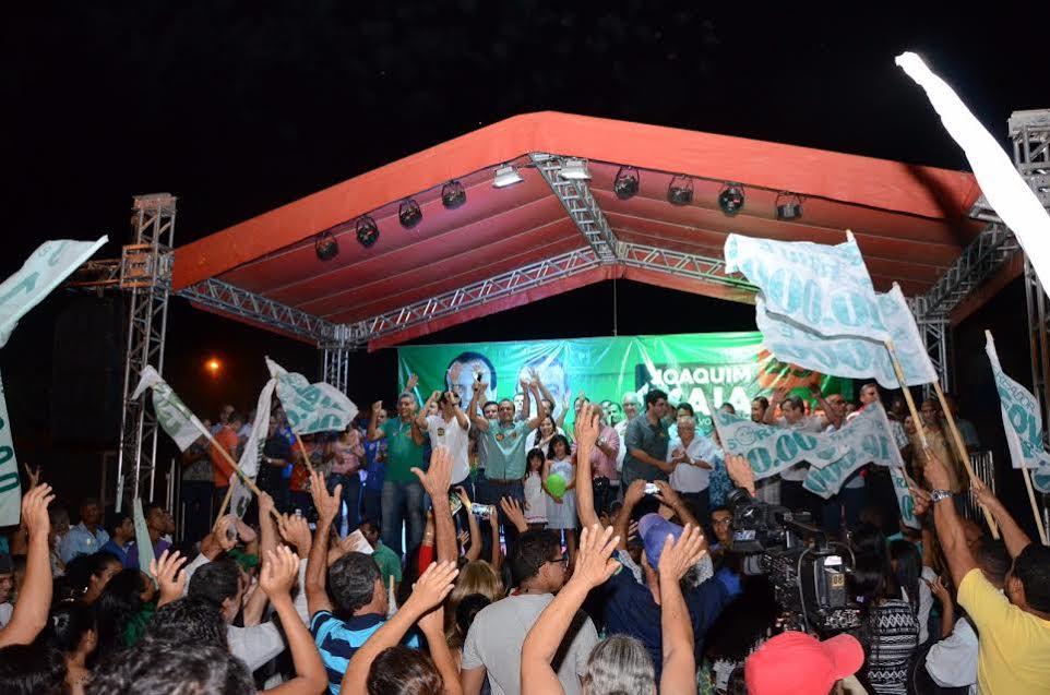 Último comício de Joaquim Maia entra para a história de Porto Naciona