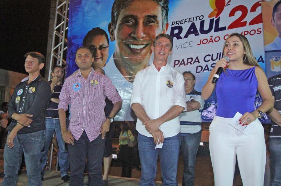 Luana lembrou que todas essas creches, quem conseguiu recursos, projetos e ordem de serviços para a execução foi o ex-prefeito Raul Filho