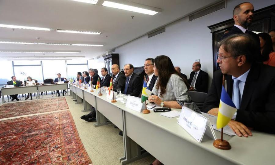 A primeira agenda oficial da nova presidente do Superior Tribunal Federal (STF), ministra Cármem Lúcia, foi com os governadores dos 26 Estados e do Distrito Federal (DF)