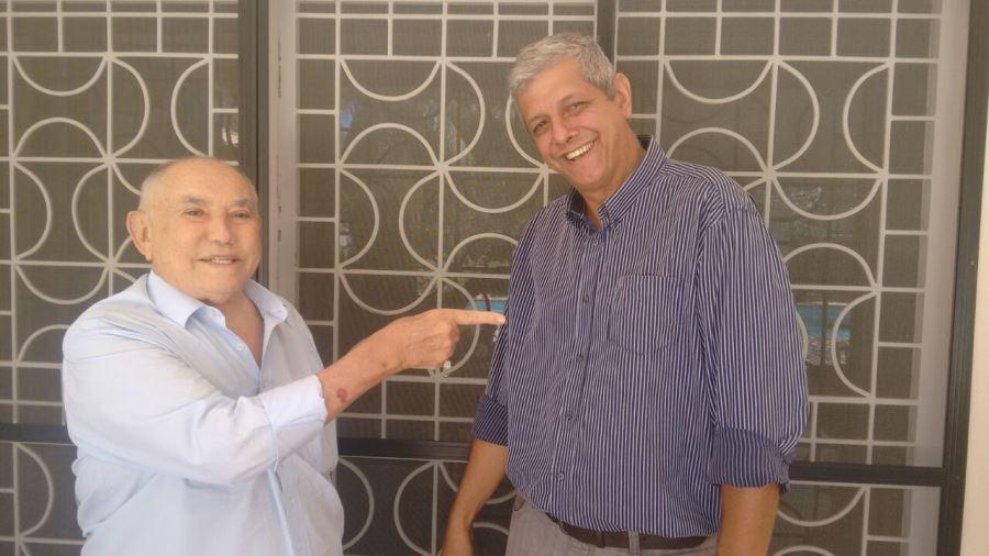Ex-governador Siqueira Campos declara apoio a Sid-Ney Menezes, candidato a vereador em Palmas