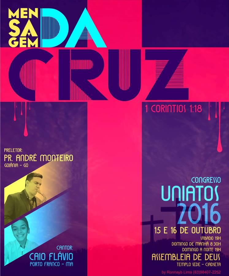 AD Ciadseta - Palmas Centro realiza congresso de adolescentes; André Monteiro é um dos preletores