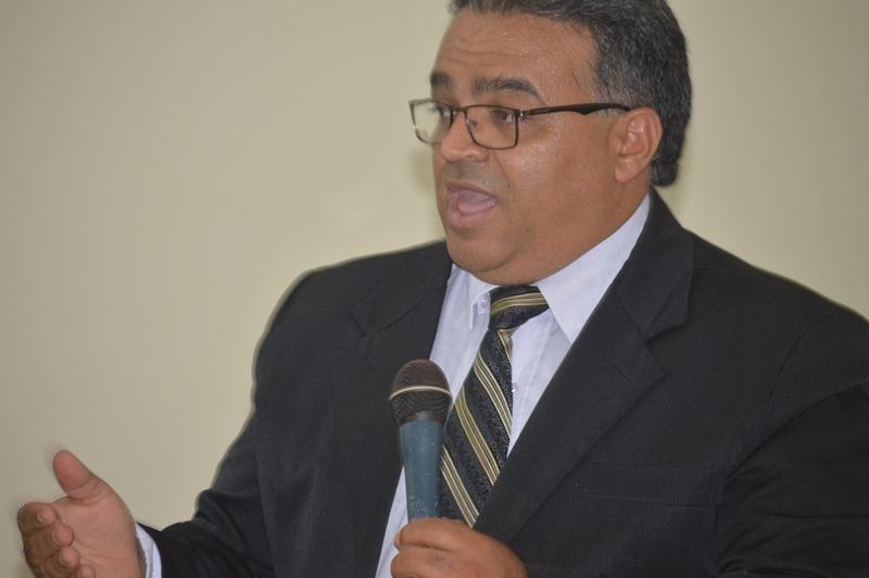 Pastor Claudemir Lopes, presidente da COIMADETUNS