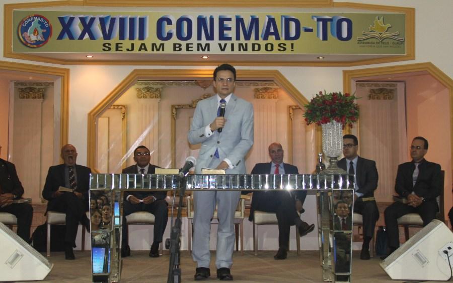 Pastor Samuel Ferreira participa da abertura da XXVIII AGE – CONAMAD – TO no Tocantins