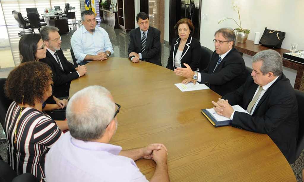 O governador Marcelo Miranda ressaltou a importância da Universidade Federal do Tocantins no processo de implantação do Parque Tecnológico do Tocantins