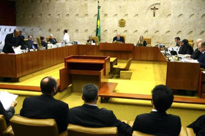 STF: os ministros Dias Toffoli e Teori Zavascki votaram pela impossibilidade de os aposentados pedirem um novo benefício (José Cruz/ABr/)