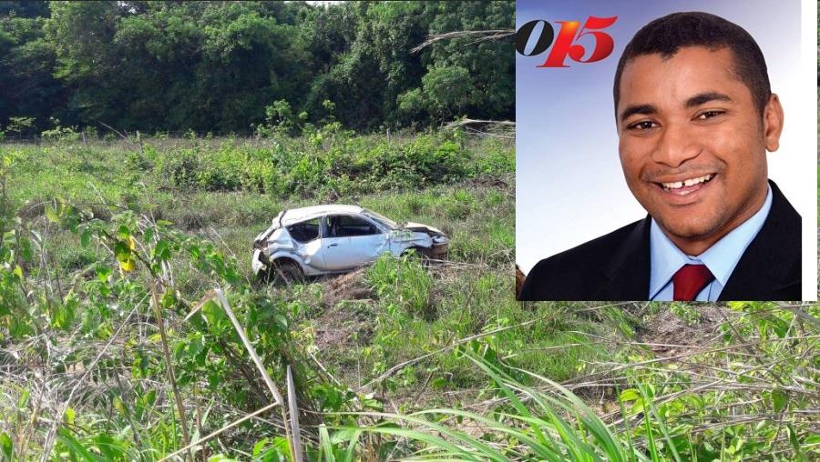 Morre em acidente Irmão Maurício, vereador eleito em Arapoema –TO