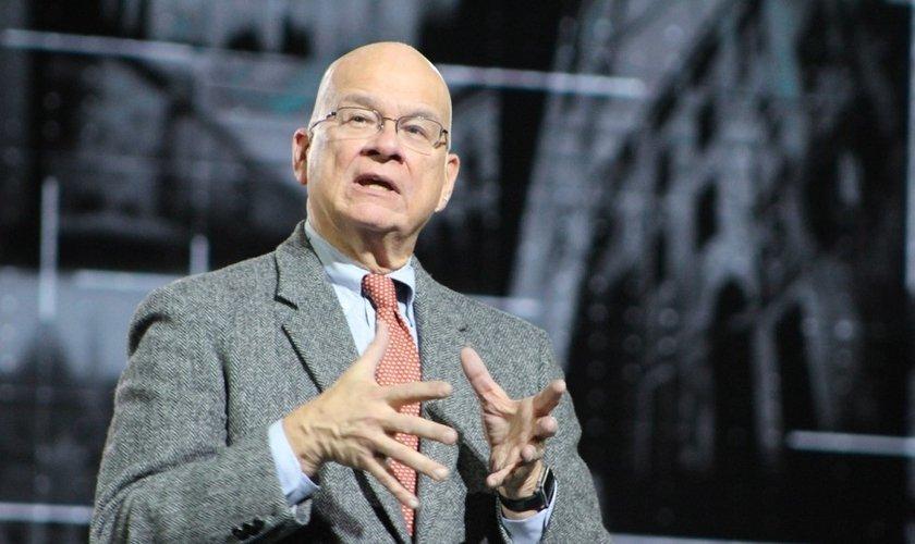 Pastor Tim Keller fala durante conferência do Movimento Global Cities. (Foto: Christian Post