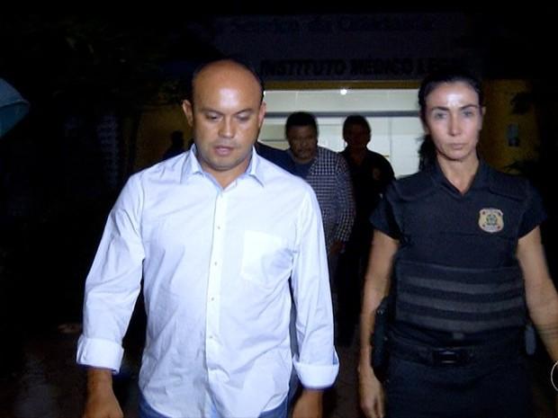 Ex-governador Sandoval Cardoso e outros 13 ficam presos em mesma cela (Foto: Reprodução/TV Anhanguera)