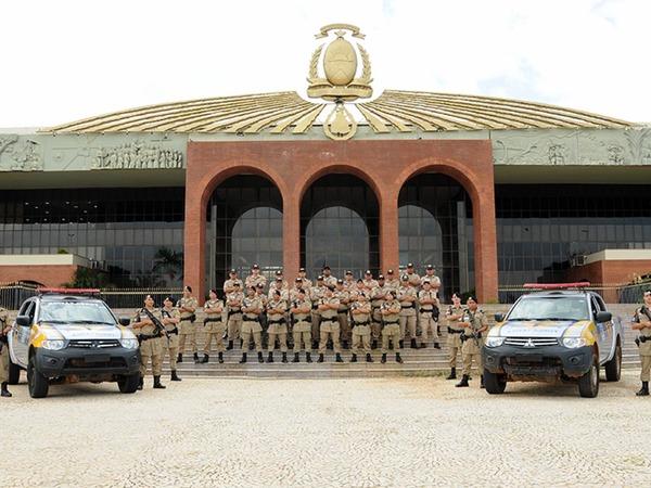 O curso foi elaborado e ministrado pelo Capitão Wallas de Sousa Melo