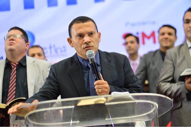 Pastor Suimar Caetano, líder da AD Missão no Tocantins