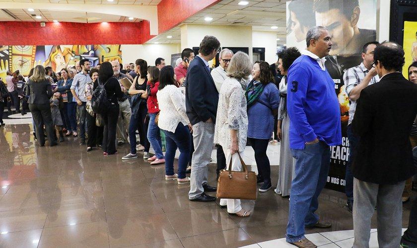O pré lançamento foi realizado em São Paulo na terça (22), no Shopping Center Norte. (Foto: Guiame/Marcos Paulo Correa)